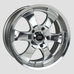 M6 Universal Truck&SUV 18x8.5 20mm Inset 5x127 Bolt Pattern 71.6mm Bore Mirror Finish Wheel by Enkei