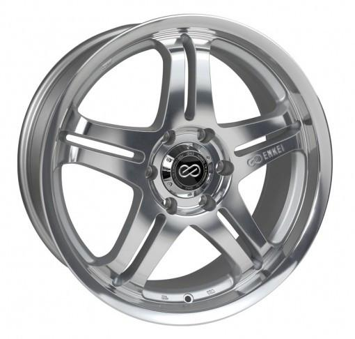M5 Universal Truck & SUV 18x8 10mm Inset 6x139.7 Bolt Pattern 108.5mm Bore Mirror Finish Wheel by Enkei - Modern Automotive Performance