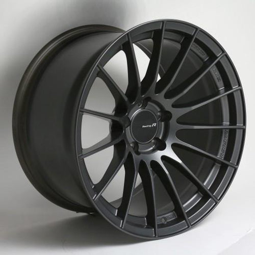 RS05-RR 18x8.5 45mm Offset 5x112 Bolt Pattern 66.5 Bore Matte Gunmetal Wheel by Enkei - Modern Automotive Performance