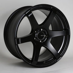 T6S 18x8 35mm Offset 5x112 Bolt Pattern 72.6 Bore Matte Black Wheel by Enkei