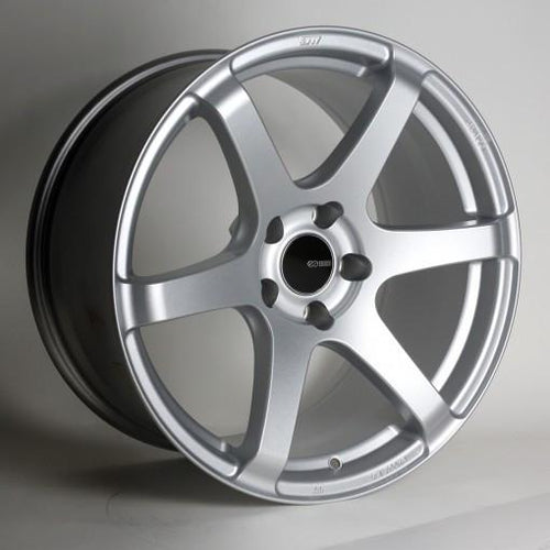 T6S 18x8 45mm Offset 5x112 Bolt Pattern 72.6 Bore Matte Silver Wheel by Enkei - Modern Automotive Performance