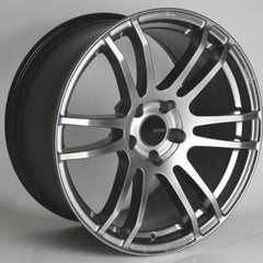 TSP6 18x8.5 25mm Offset 5x114.3 Bolt Pattern 72.6 Bore Hyper Silver Wheel by Enkei