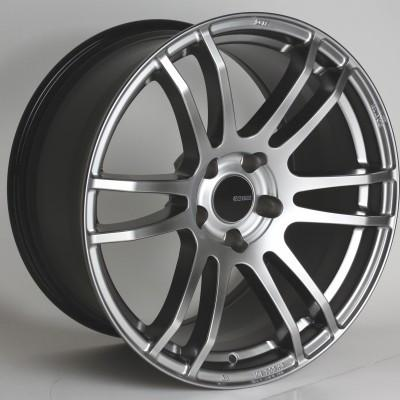TSP6 18x8.5 45mm Offset 5x100 Bolt Pattern 72.6 Bore Hyper Silver Wheel by Enkei - Modern Automotive Performance