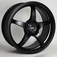 VR5 18x8 40mm Offset 5x114.3 Bolt Pattern 72.6 Bore Dia Matte Black Wheel by Enkei
