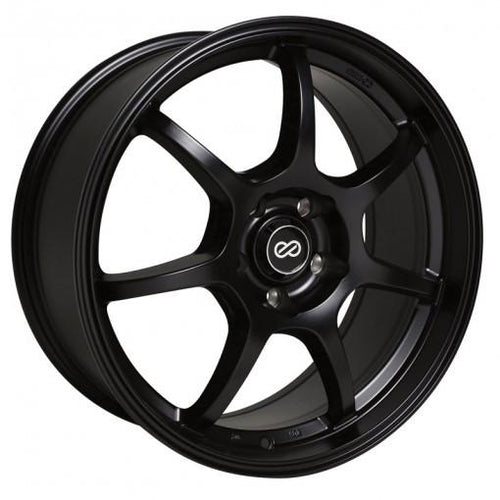 GT7 18x8 40mm Offset 5x114.3 Bolt Pattern 72.6 Bore Dia Matte Black Wheel by Enkei - Modern Automotive Performance