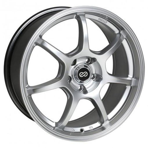 GT7 18x8 40mm Offset 5x114.3 Bolt Pattern 72.6 Bore Dia Hyper Silver Wheel by Enkei - Modern Automotive Performance