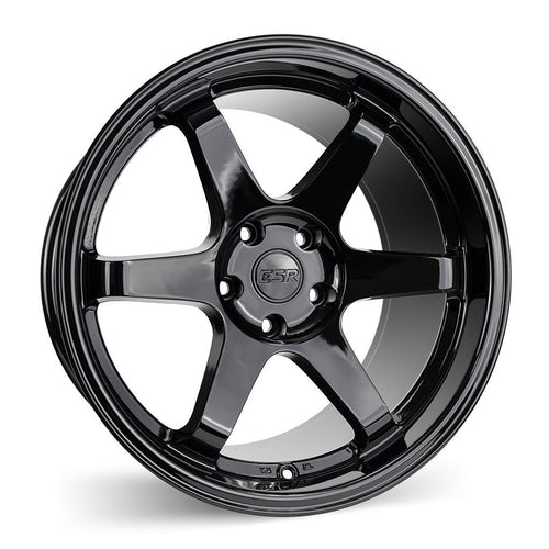 "ESR SR07 5x114.3 19"" Gloss Black Wheels"