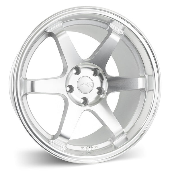 "ESR SR07 5x114.3 18"" Machine Face / Machine Lip Wheels"