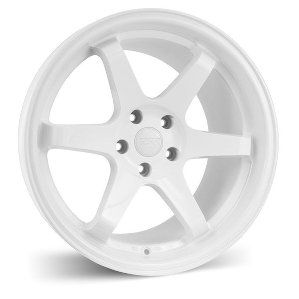 "ESR SR07 5x100 18"" Gloss White Wheels"
