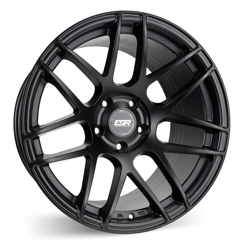 "ESR RF1 5x120 18"" Matte Black Wheels"