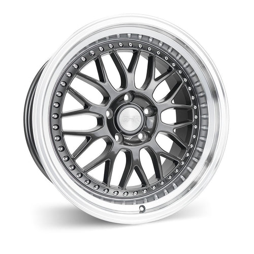 "ESR SR01 5x114.3 18"" Gunmetal Machine Lip Wheels"