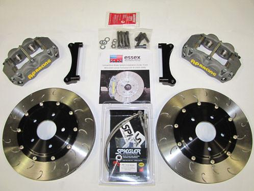 Essex Designed AP Racing Competition Brake Kit- 2015 Subaru WRX (Bundle) - Modern Automotive Performance