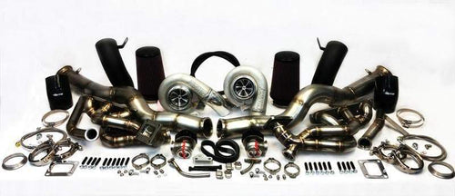 ETS T4 Top Mount Turbo Kit | 2009+ Nissan GT-R R35 (300-10-TK)