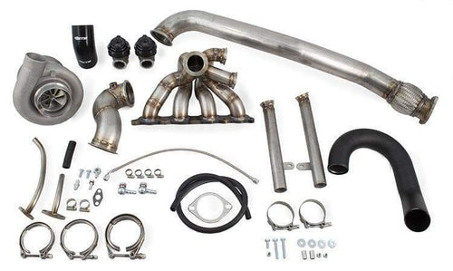ETS Forward Facing Twin Scroll Turbo Kit | 2003-2006 Mitsubishi Evolution 8/9 (100-20-TK)