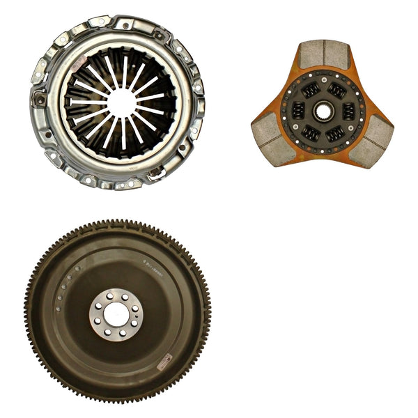 Exedy Stage 2 Cerametallic Clutch w/ Thick Disc & NF05 Flywheel | Multiple Fitments (06956)