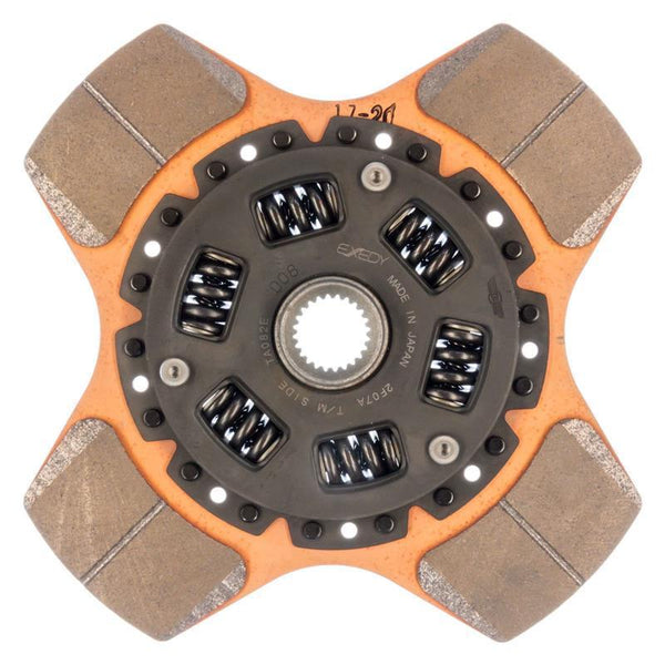 Exedy Replacement Clutch Disc - Stage 2 Cerametallic 4 Puck Disc | Multiple Fitments (FD12T1)