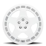 "Fifteen52 Turbomac 4x100 17"" Rally White Wheels"