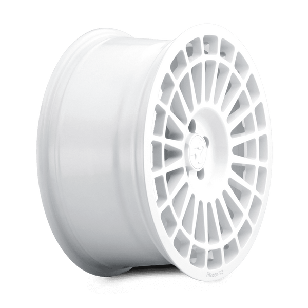 "Fifteen52 Integrale 5x114.3 18x8.5"" +48mm Offset Rally White Wheels"