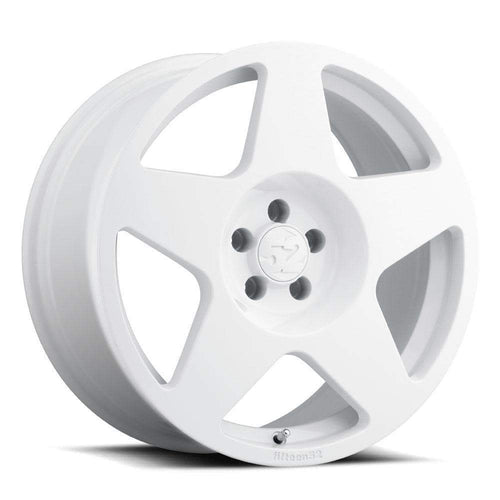 "Fifteen52 Tarmac 5x100 17x7.5"" +30mm Offset Rally White Wheels"