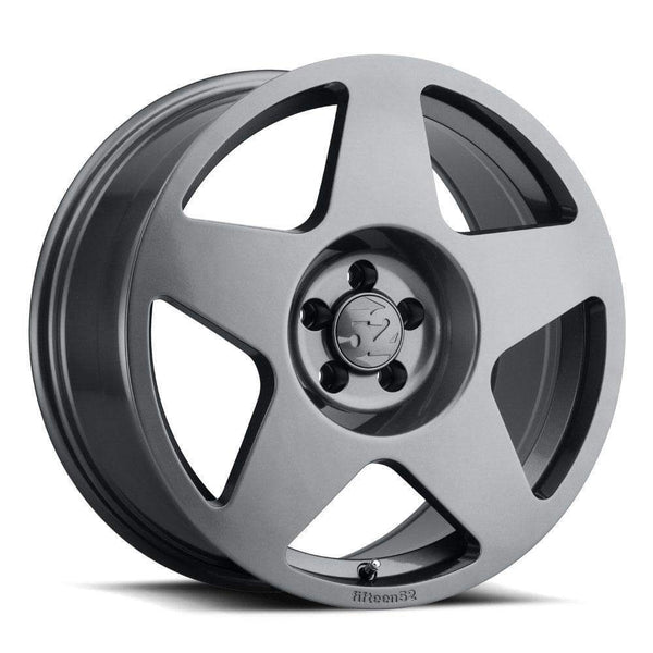 "Fifteen52 Tarmac 5x114.3 18x8.5"" +48mm Offset Silverstone Grey Wheels"