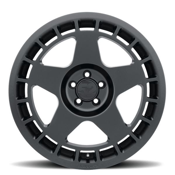 "Fifteen52 Turbomac 5x114.3 18x8.5"" +48mm Offset Asphalt Black Wheels"