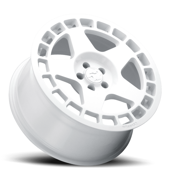 "Fifteen52 Turbomac 5x114.3 17x7.5"" +42mm Offset Rally White Wheels"