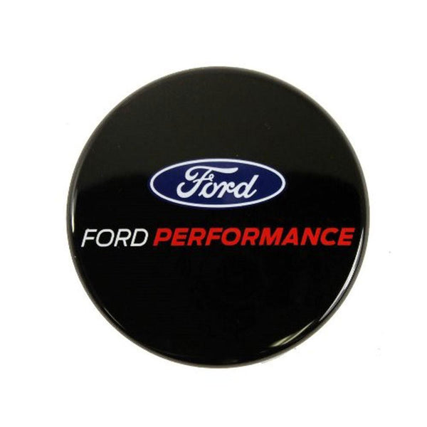 Ford Performance Black Center Cap w/ Ford Performance Logo | 15-19 Ford Mustang / 12-18 Focus (M-1096-FP3)