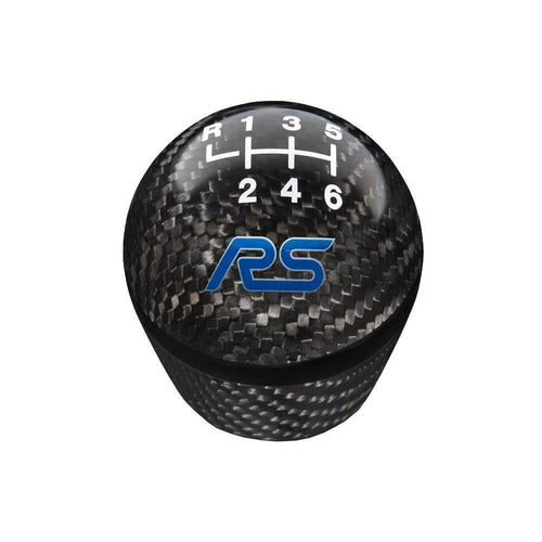 Ford Performance 6-Speed Carbon Fiber Shift Knob  w/ RS Logo | 2016-2018 Ford Focus RS (M-7213-FRSCF)