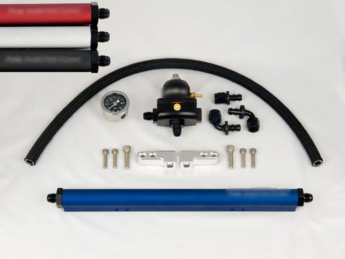 Fuel Injector Clinic Complete Evo 8/9 Fuel Rail Kit with -6 AN Fittings / FKT EVO 8/9 -6 - Modern Automotive Performance