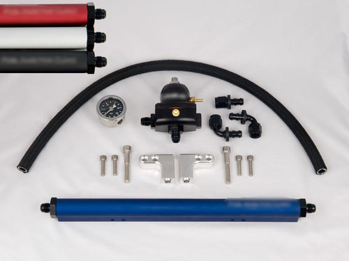 Fuel Injector Clinic Complete DSM Fuel Rail Kit with -6 AN Fittings / FKT DSM -6 - Modern Automotive Performance