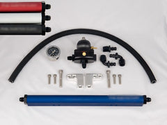 Fuel Injector Clinic Complete DSM Fuel Rail Kit with -6 AN Fittings / FKT DSM -6