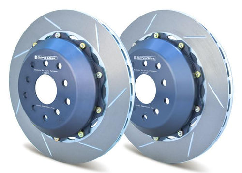 Girodisc 2pc Rear Floating Rotors | 2004-2007 Subaru STi (A2-007)