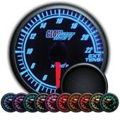 GlowShift Elite 10 Color 2200°F Exhaust Gas Temperature Gauge - Modern Automotive Performance