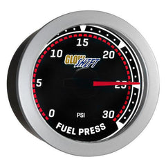 GlowShift Tinted 30PSI Fuel Pressure Gauge (GS-T11-30)