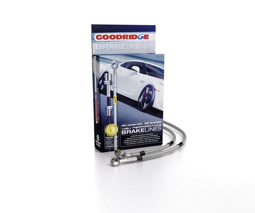 GoodRidge G-Stop Stainless Steel Brake Line Kit | 2003-2006 Mitsubishi Evolution 8/9 (26052)