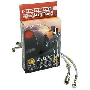 BMW M3 E-46 European 4-Line Brake Lines by Goodridge