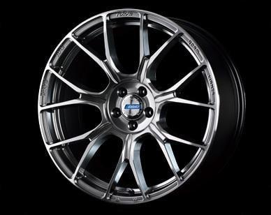"Gram Lights 57BNA 5x114.3 18"" Shining Silver Wheels"
