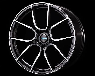 "Gram Lights 57ANA 5x100 19"" Super Dark Gunmetal Wheels"
