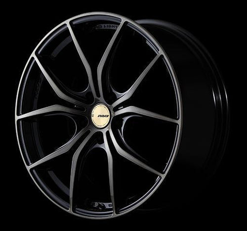 "Gram Lights 57FXX-CJ 5x114.3 17"" Black Japanesque Wheels"