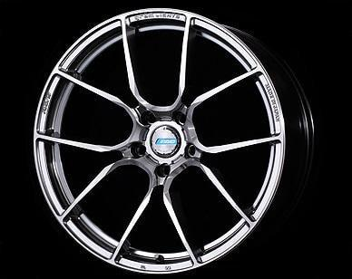 "Gram Lights 57ANA 5x100 17x7.0"" +50mm Offset Shining Silver Wheels"