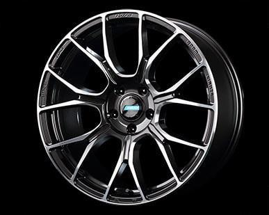 "Gram Lights 57BNA 5x100 18x7.0"" +50mm Offset Super Dark Gunmetal Wheels"