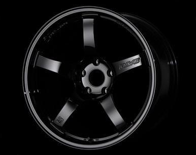 "Gram Lights 57CR 5x120 18x9.5"" +38mm Offset Gloss Black Wheels"