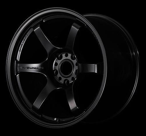 "Gram Lights 57DR 4x100 15"" Semigloss Black Wheels"
