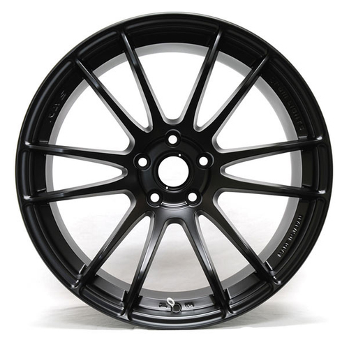 Gram Lights 57Xtreme Semi Gloss Black Wheel 18x9.5/5x114.3/+40 Offset (WGJX40E9)