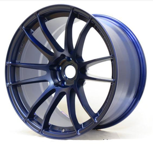 Gram Lights 57Xtreme Winning Blue Wheel 18x9.5/5x114.3/+40 Offset (WGJX40EE)