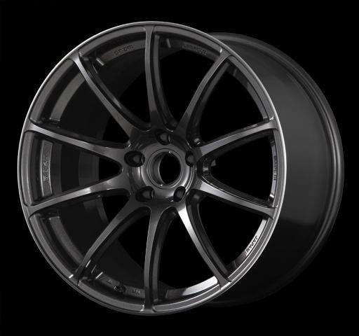 "Gram Lights 57Transcend 5x120 18x9.5"" +35mm Offset Super Dark Gunmetal Wheels"