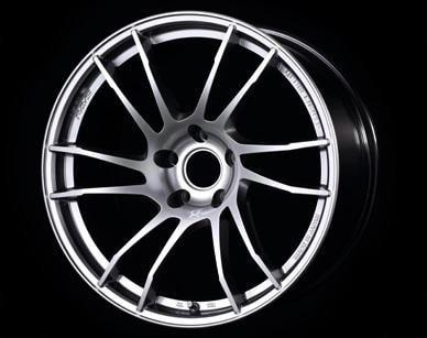 "Gram Lights 57XTC 5x114.3 17x7.0"" +48mm Offset Shining Silver Wheels"