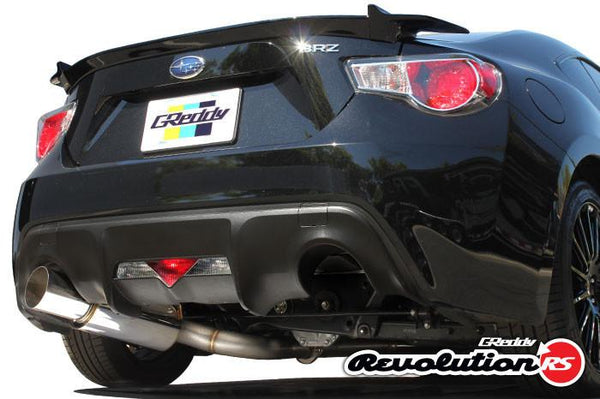 Greddy Revolution RS Cat-Back Exhaust | 2013-2016 Subaru BRZ / Scion FR-S (10118102)