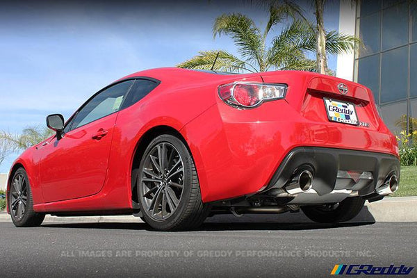 Greddy Supreme SP Cat Back Exhaust | 2013-2016 Subaru BRZ / Scion FR-S (10118206)