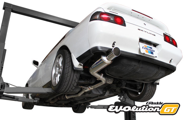 GReddy EVOlution GT Exhaust | 1989-1991 Nissan Skyline GT-R (10128305)